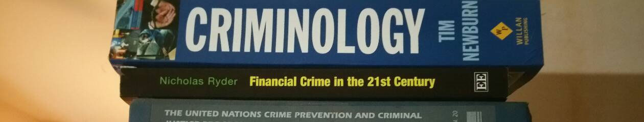 Criminology and Criminal Justice Administration.
